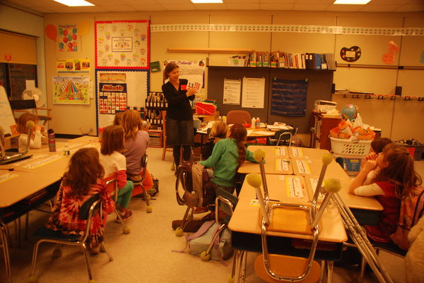 French Class for Saratoga Springs Kids at Geyser Road Elementary School