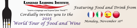 A Dining Experience Like No Other- The World Tour of Food and Wine