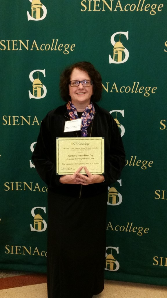 Siena Graduate Honored at Annual Maddalone Wall of Success Induction Celebration
