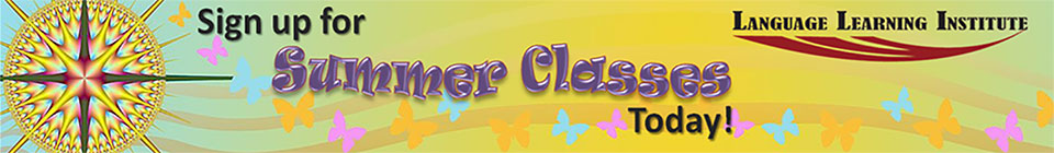 Sign up for Summer classes Today!