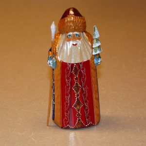 Wooden Christmas figure of St. Nicholas