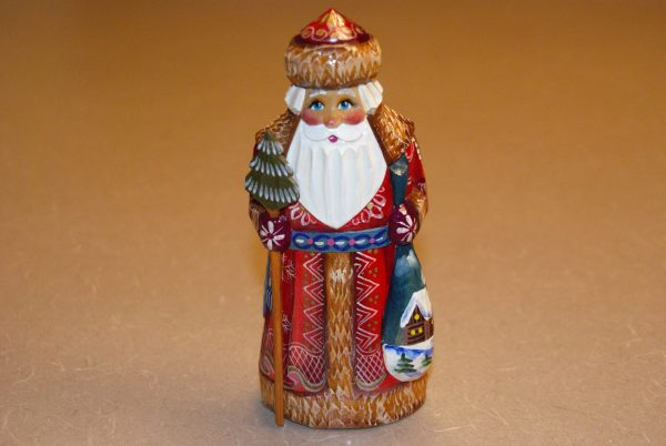 Front of the St. Nicholas Christmas Figurine