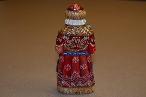 Back of the St. Nicholas Figurine