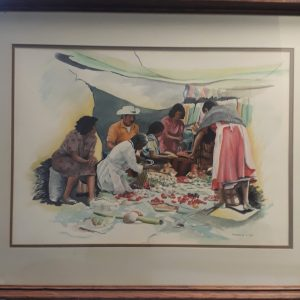 Signed Original Watercolor by Harold Wind