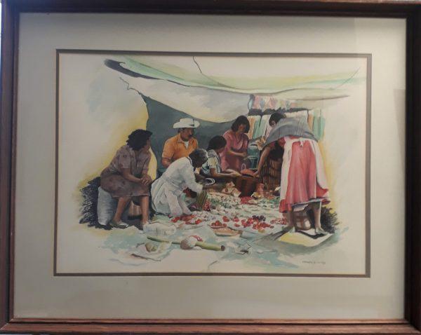 Signed Original Watercolor by Harold Wind